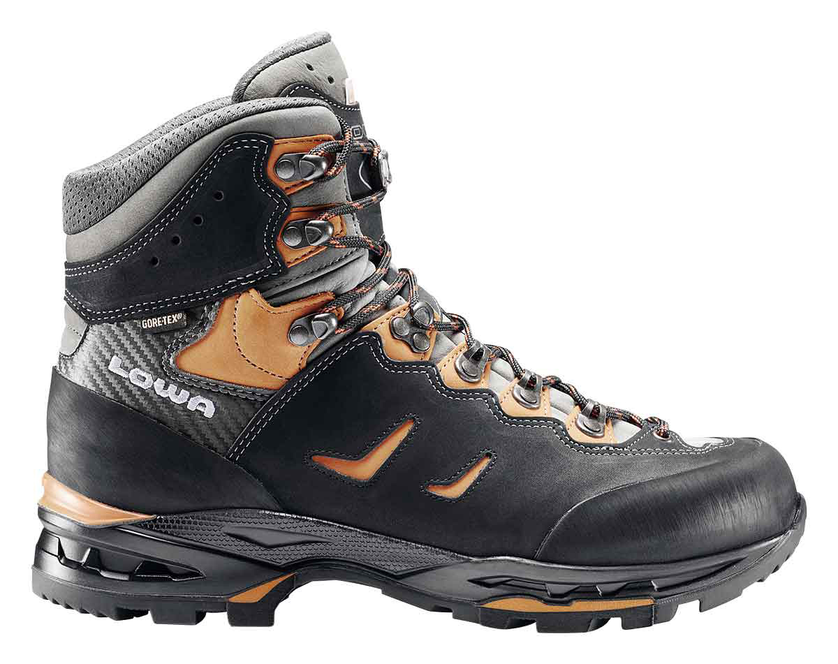 Trekking LOWA Index 3 CAMINO GTX®, SCHWARZ/ORANGE, 10.5