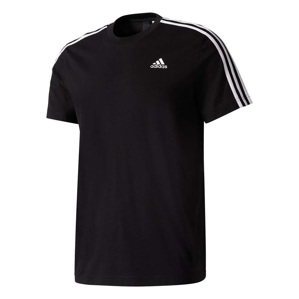 Herren Polo-Shirt Essentials 3 Stripes Tee