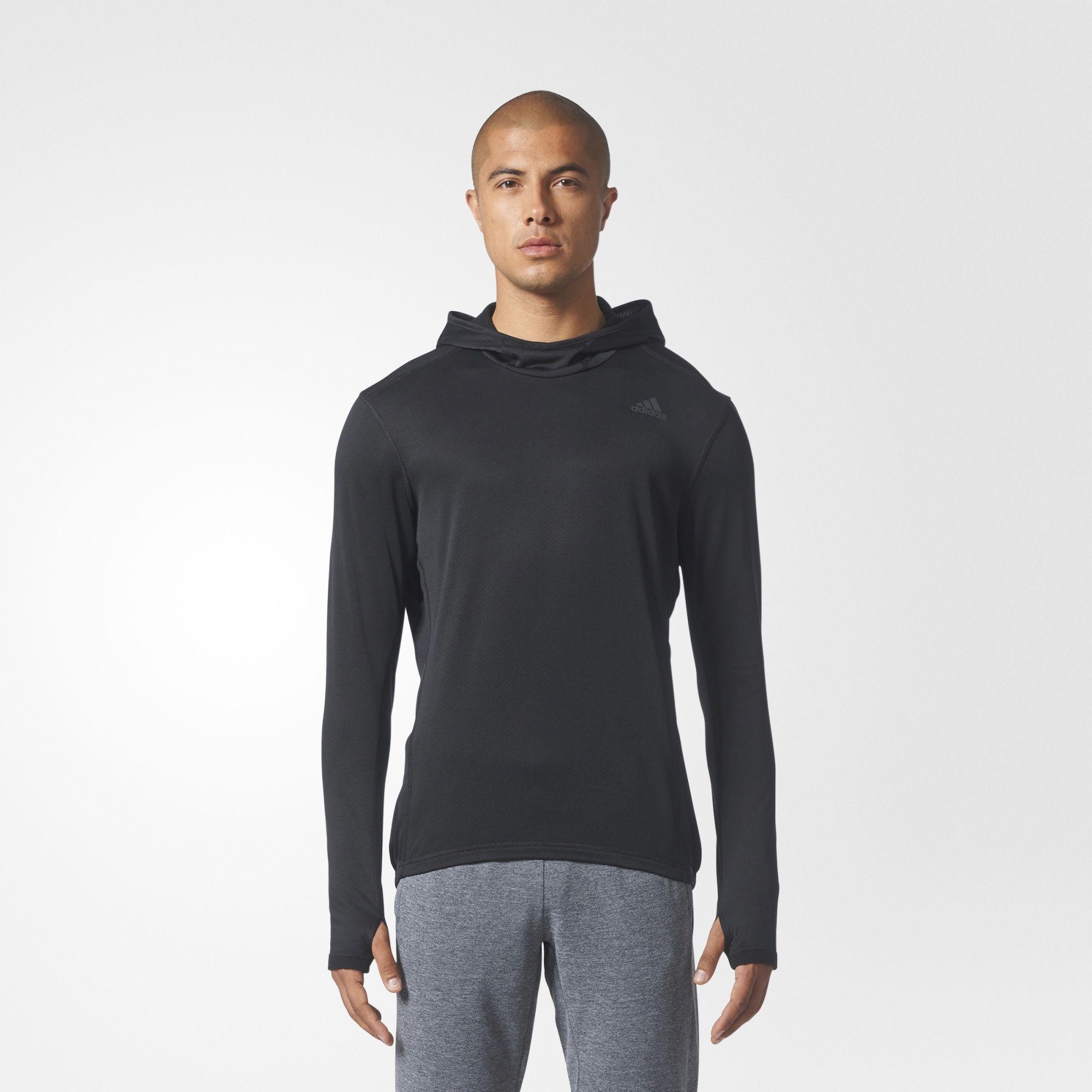adidas herren response climawarm hoodie ebay. Black Bedroom Furniture Sets. Home Design Ideas