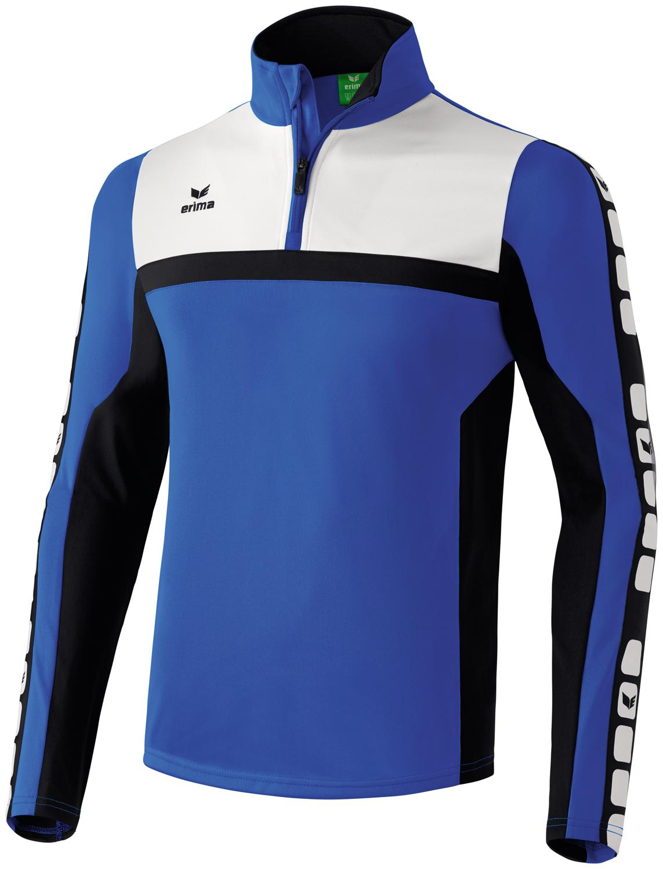 Herren Shirt CLASSIC 5-CUBES Trainingstop, new royal/black/white, S