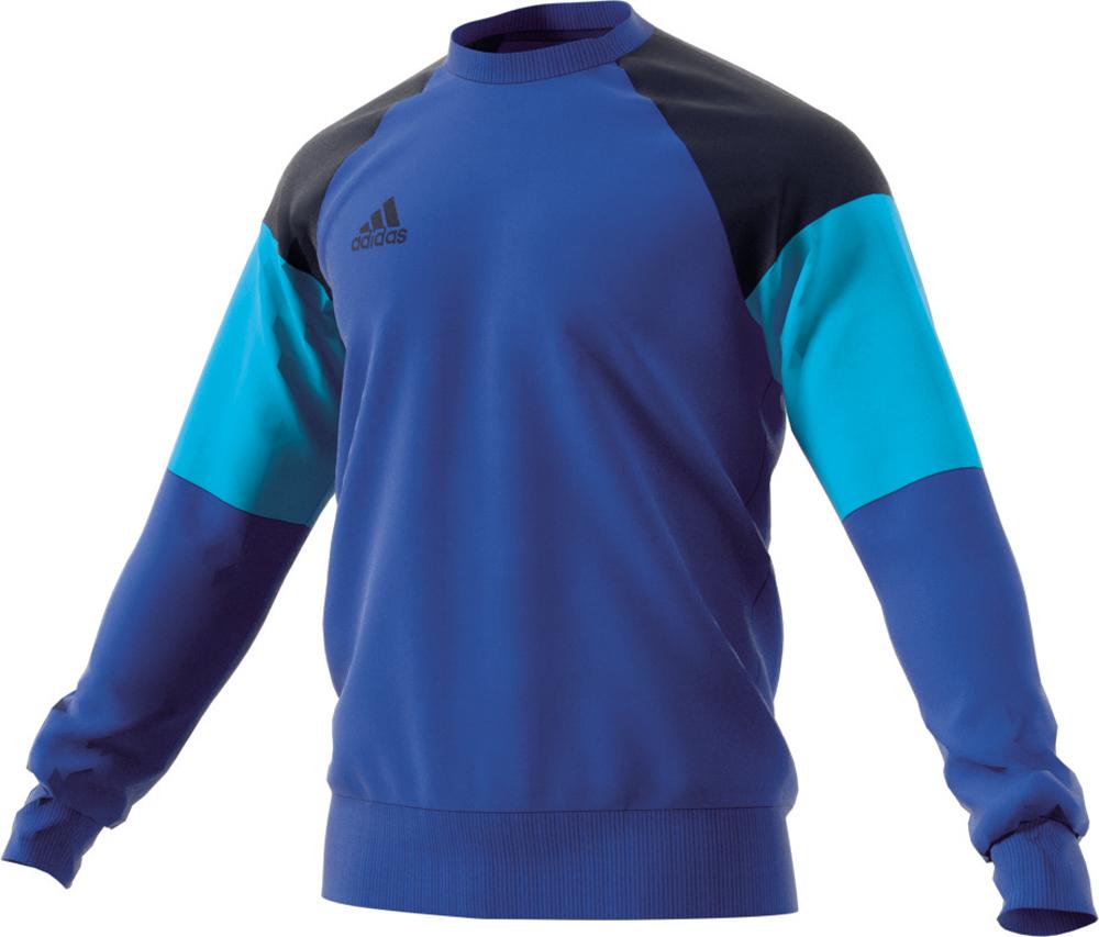 Herren Shirt Condivo 16 Sweat Top, BLUE/CONAVY/BRCYAN, 2XL