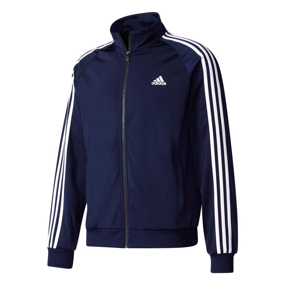 Herren Sportjacke Essentials Track Jacket Tricot, CONAVY/WHITE, XL