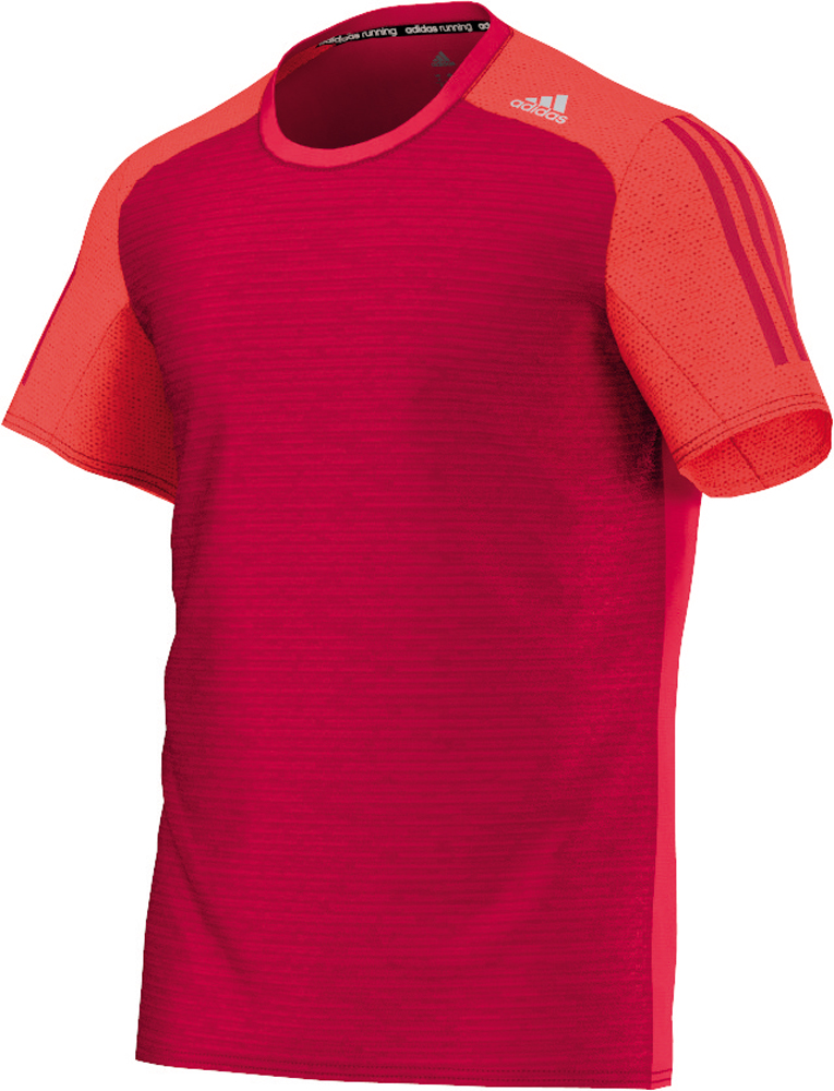 Herren Sportshirt Response Short Sleeve M