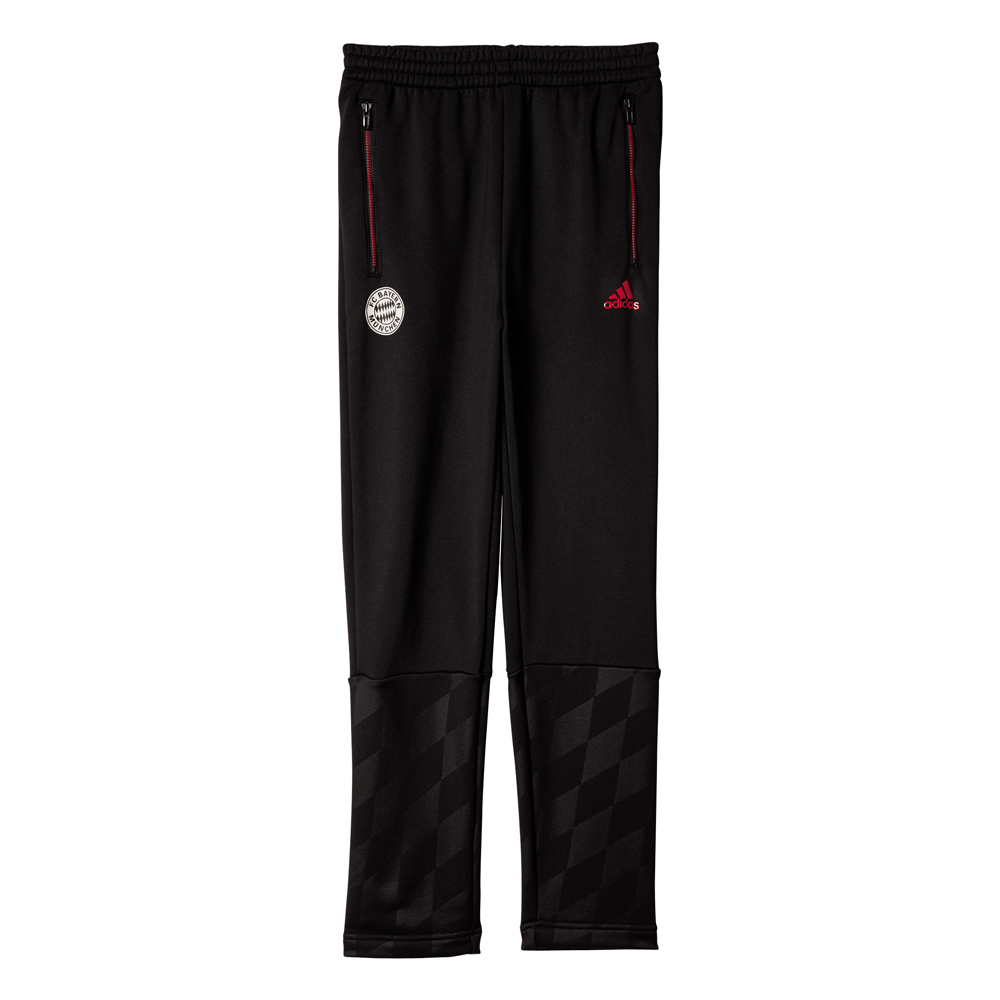 Herren FCB Hose Bayern Munich Knitted Tiro Pant, BLACK, 128
