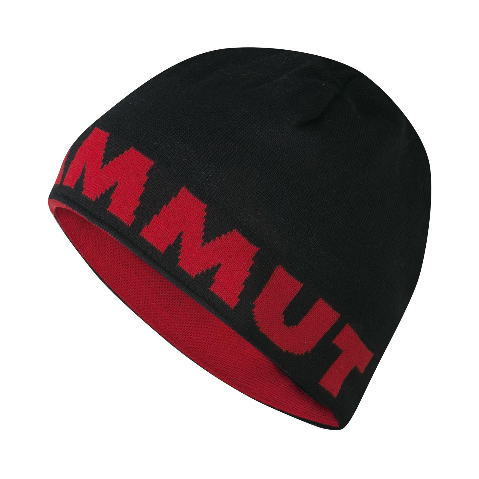 Herren Mütze Mammut Logo Beanie