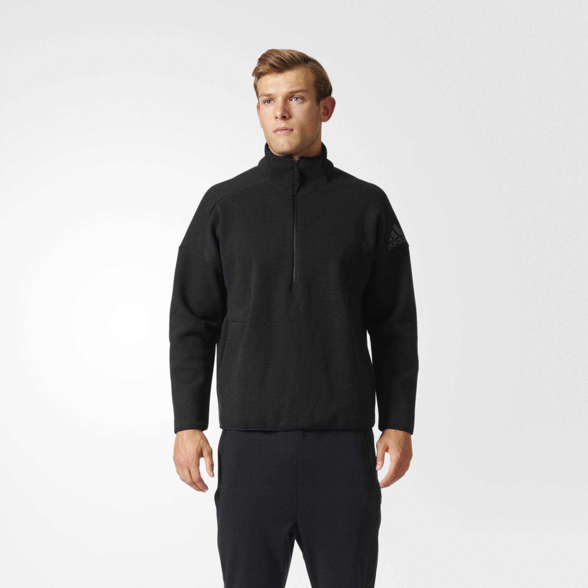 Herren Z.N.E. Sweatshirt, BLACK, M