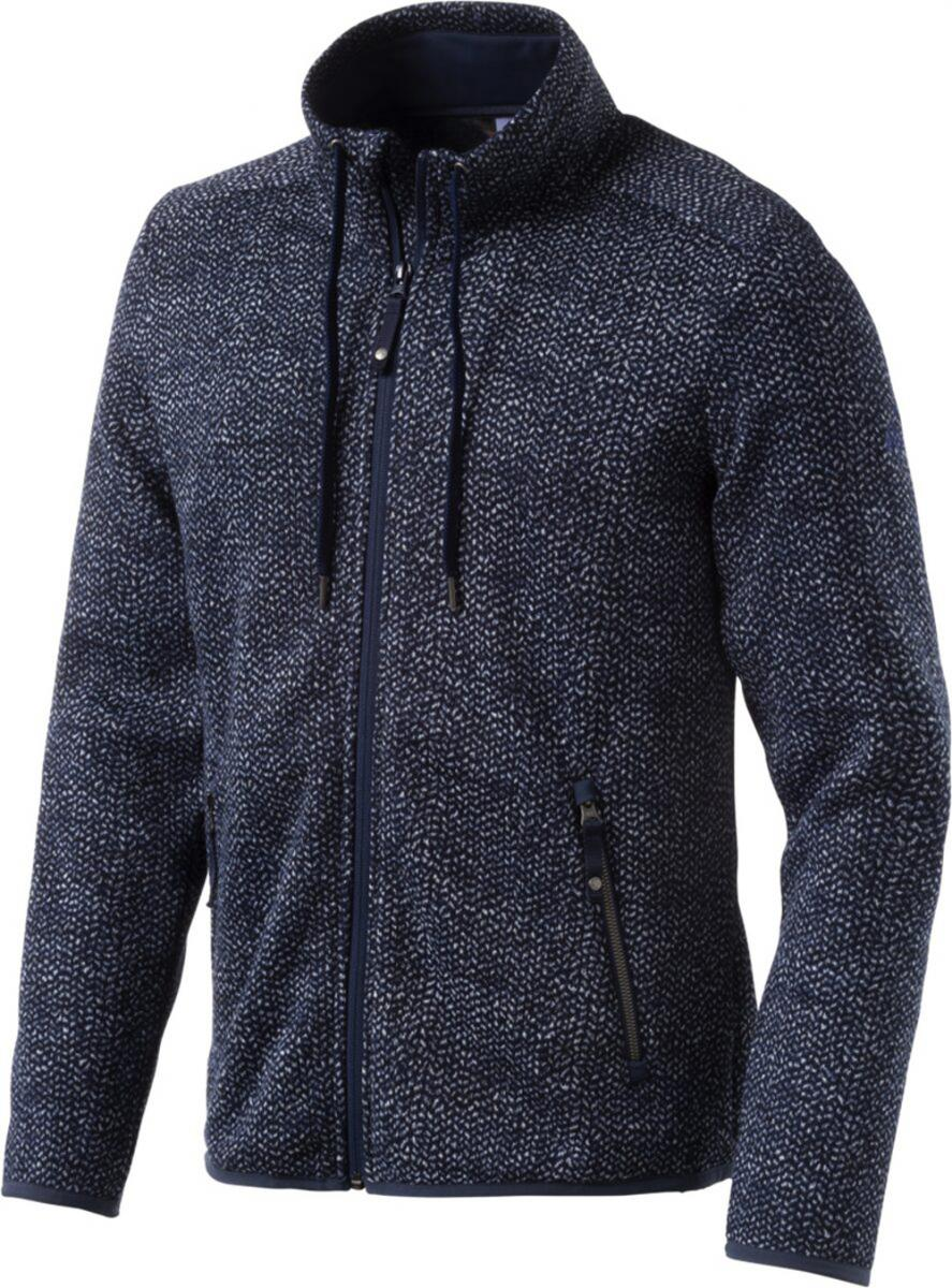 Herren Fleecejacke Northlight Wanderjacke Navy Dark