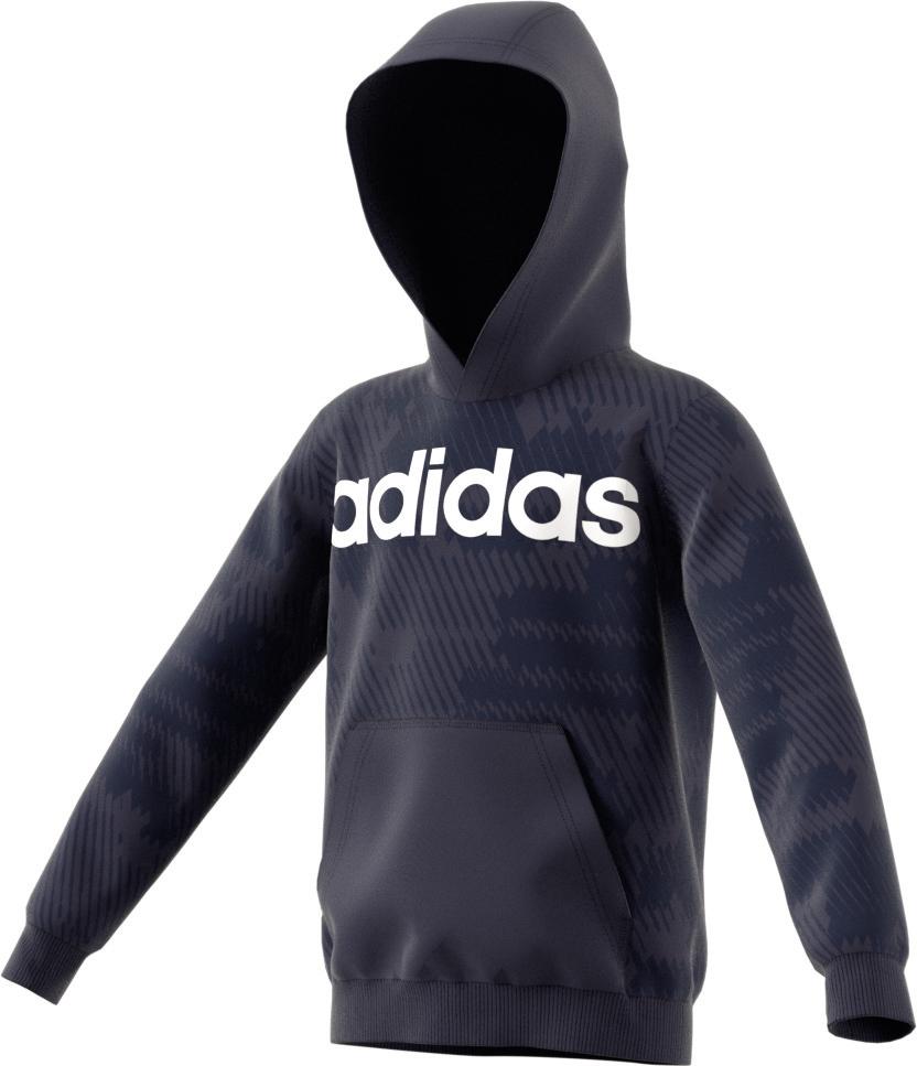 Kinder Pullover Linear Hoodie