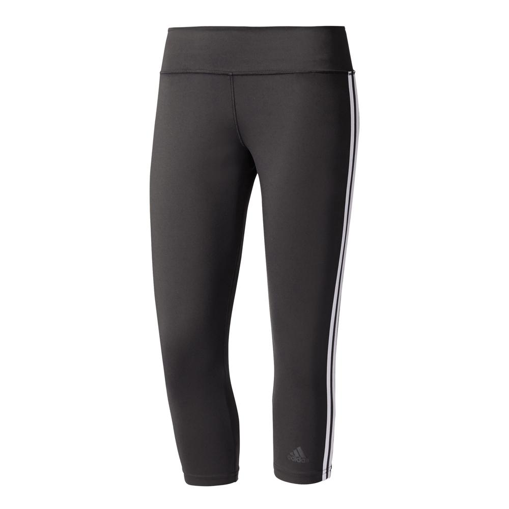 Damen Sporthose D2M 3S3/4TIGH, BLACK/WHITE, M