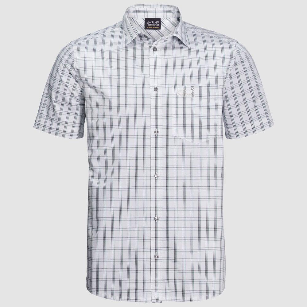 Herren Hemd Hot Springs Shirt weiß