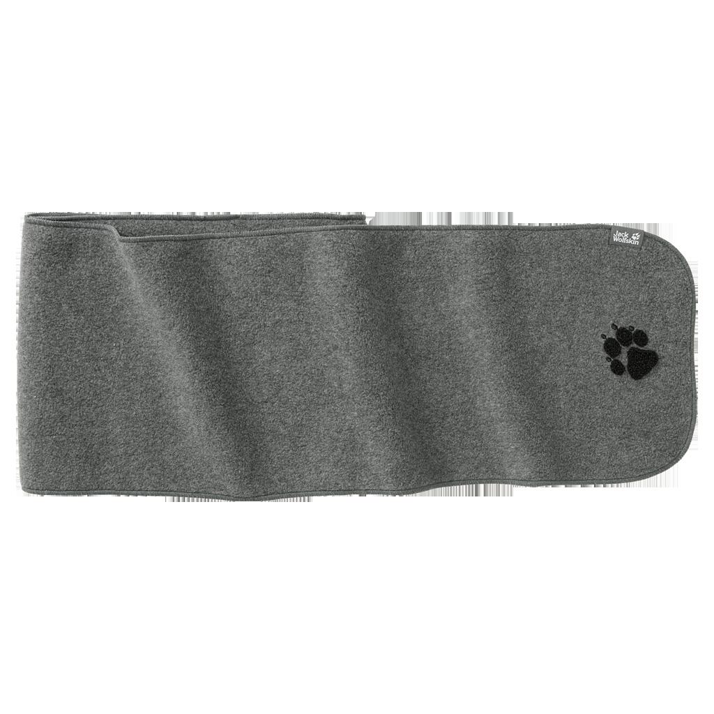 Unisex Fleeceschal PAW NANUK, grey heather, ONE SIZ