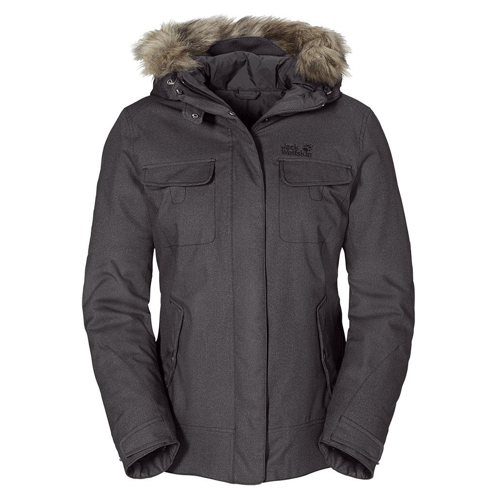 Damen Jacke Cypress Mountain Jacket, dark steel, M