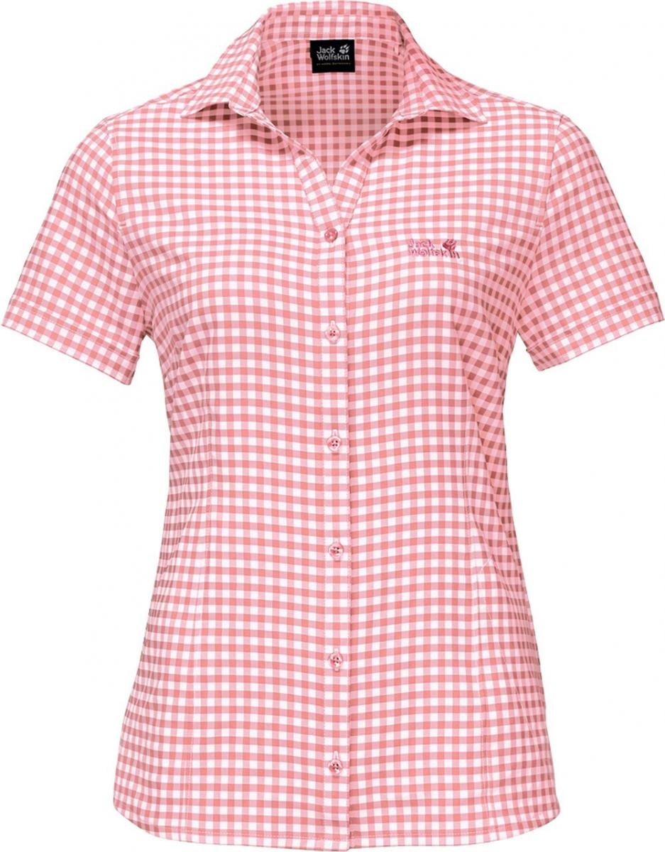 Damen Bluse Kepler Shirt Women Rose, rose quartz checks, L