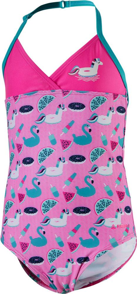 Kinder Badeanzug Lorinda pink, PINK, 110