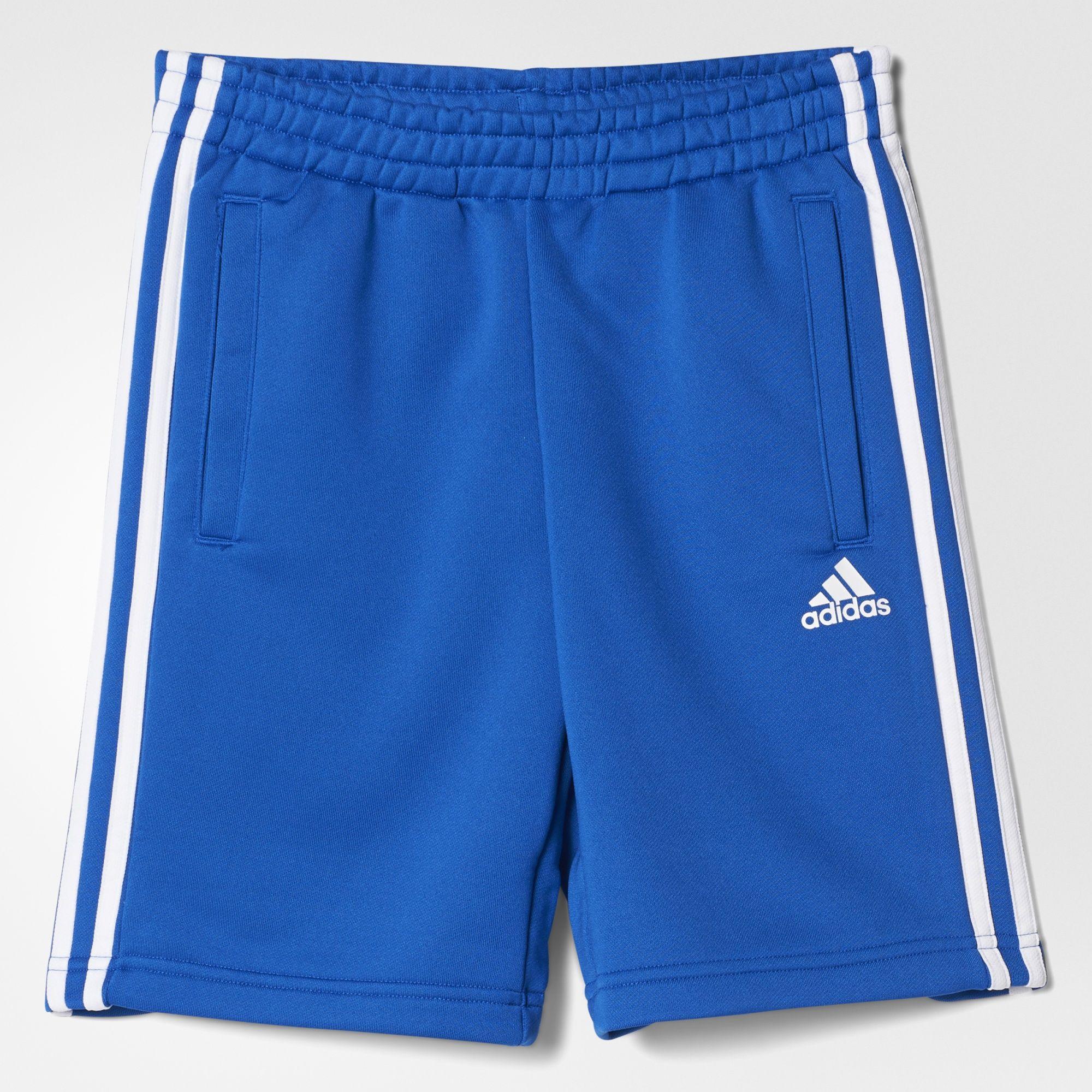 Kinder Essentials3-Streifen Shorts, BLUE, 152