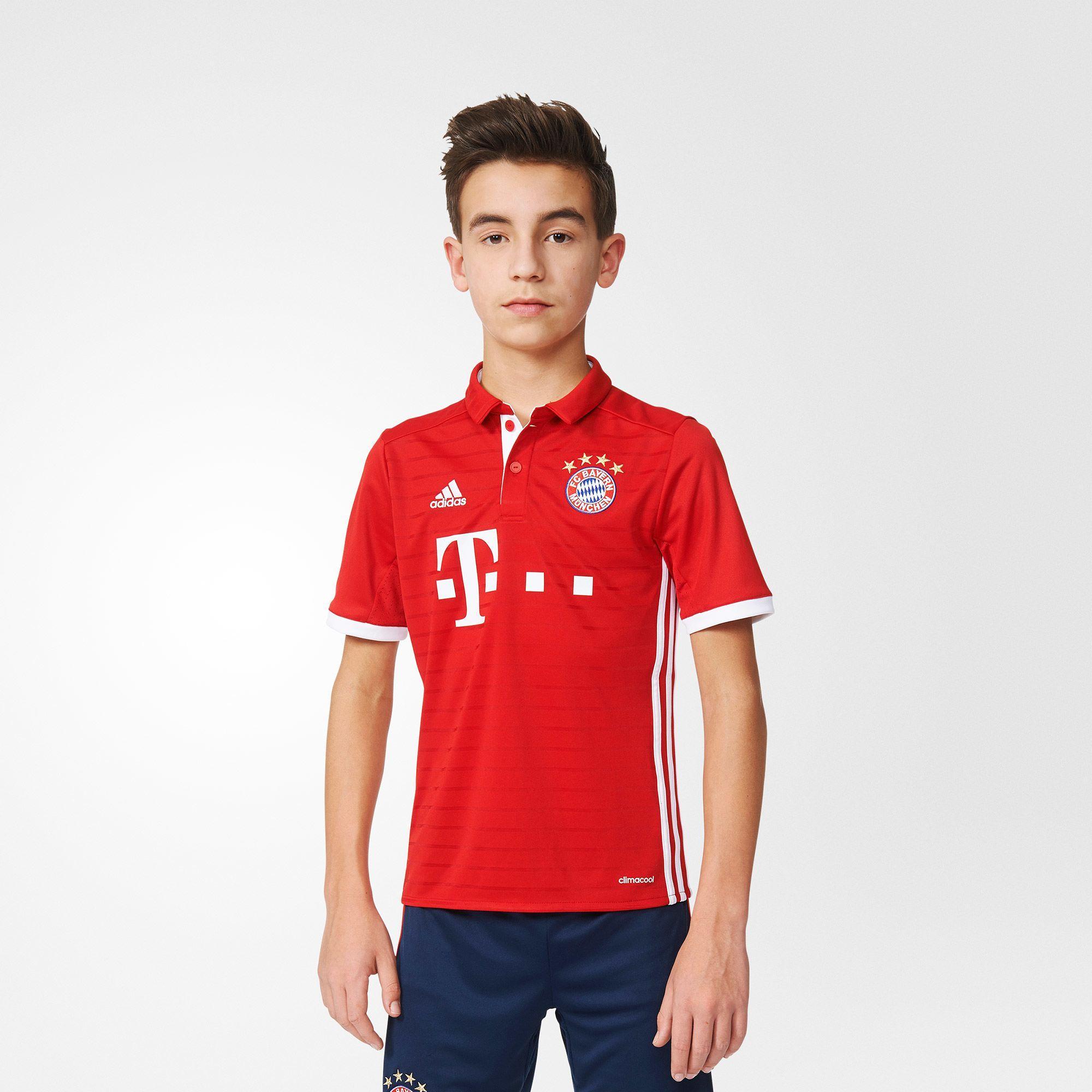 Kinder FC Bayern München Heimtrikot Replica, FCBTRU/WHITE, 164