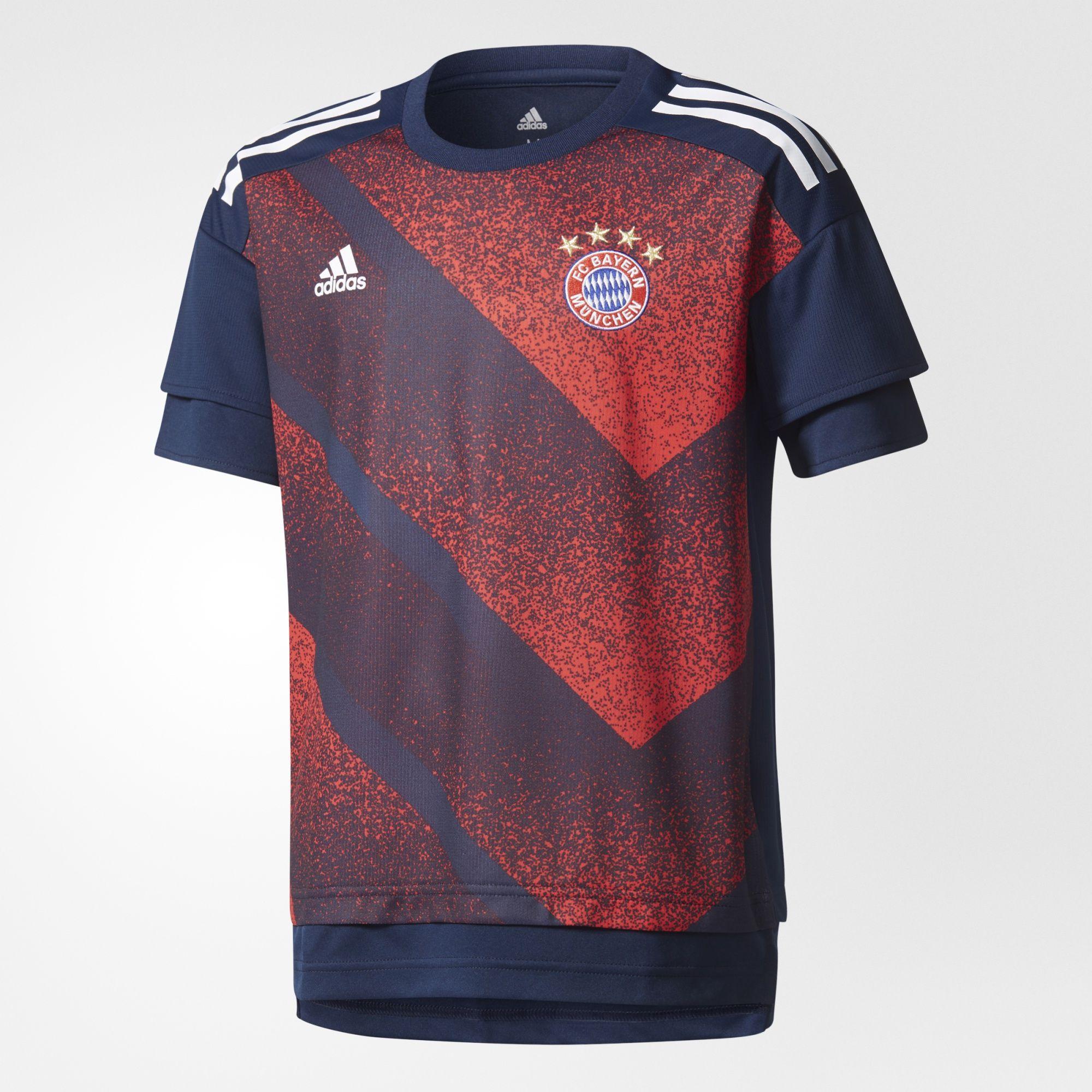 Kinder FC Bayern München Home Pre-Match Shirt