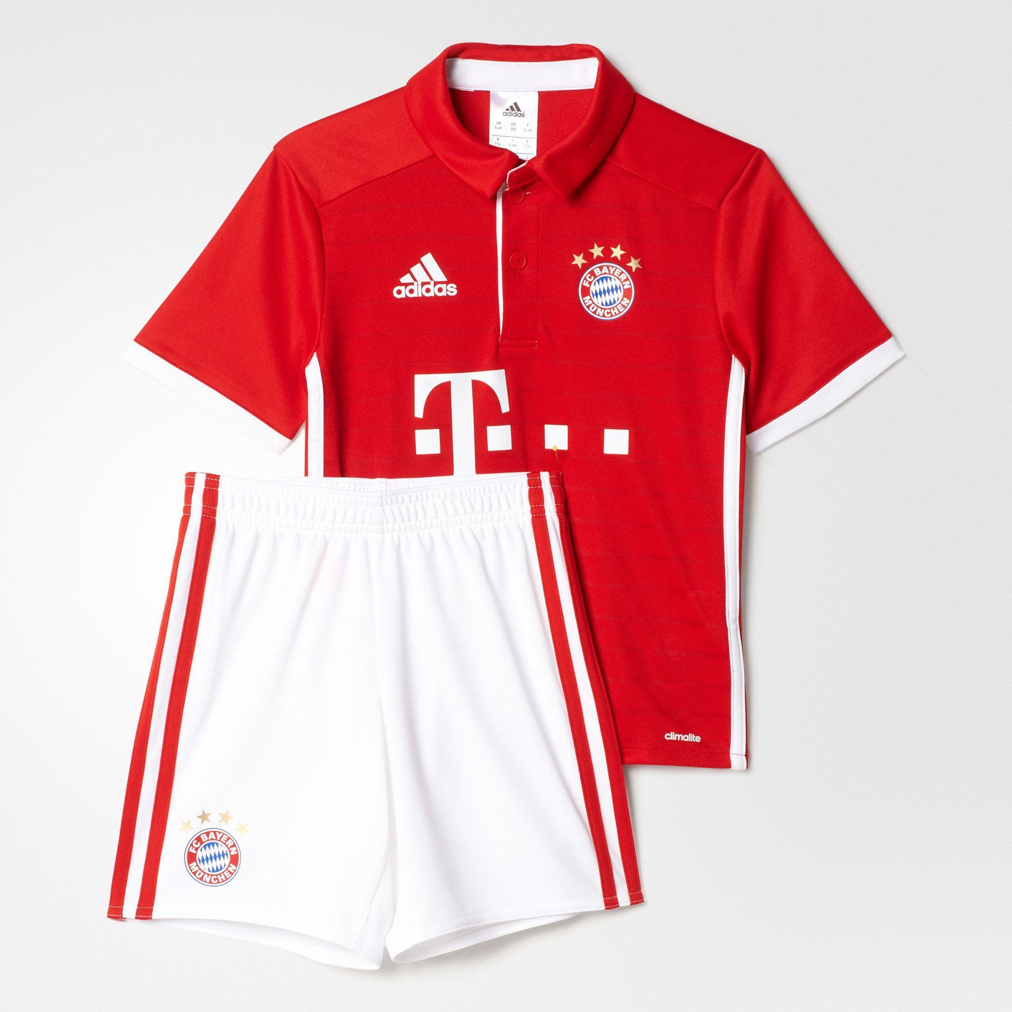 Kinder FC Bayern München Mini-Heimausrüstung