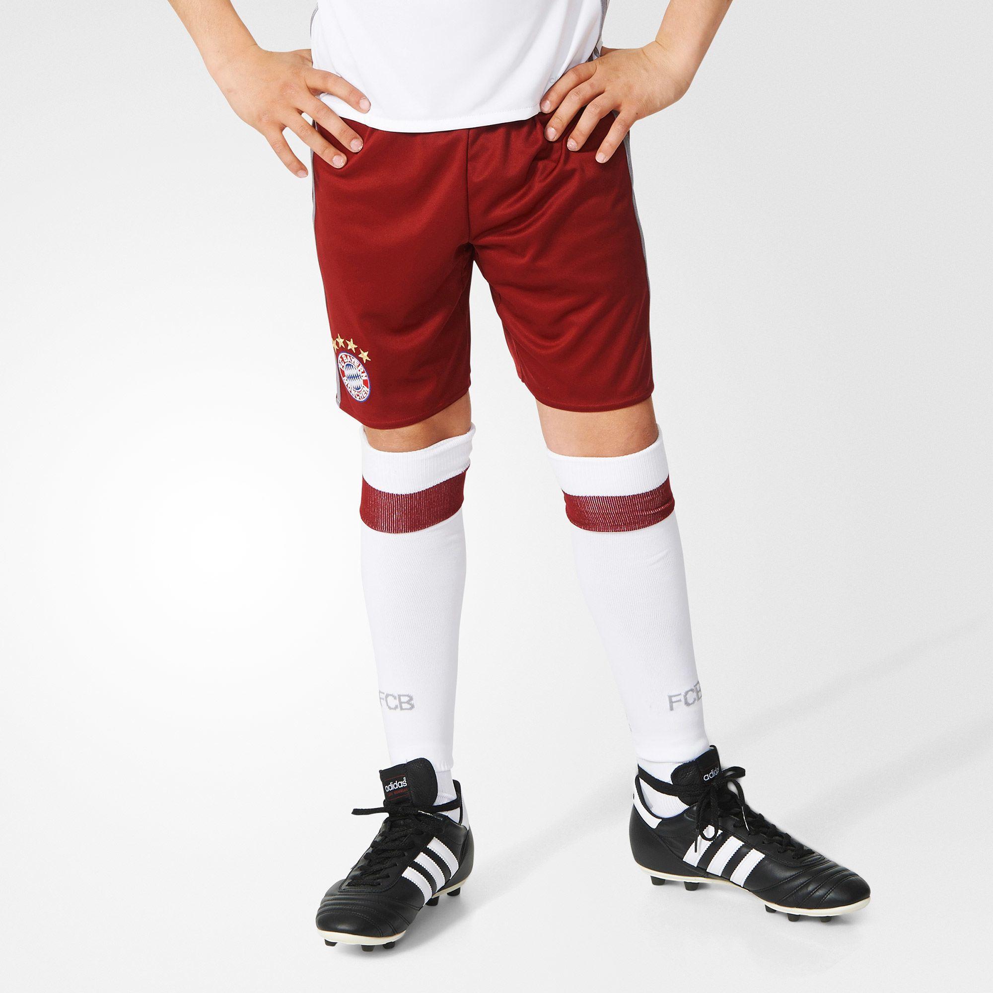 Kinder FC Bayern München UCL Shorts Replica, CBURGU/LTONIX, 128