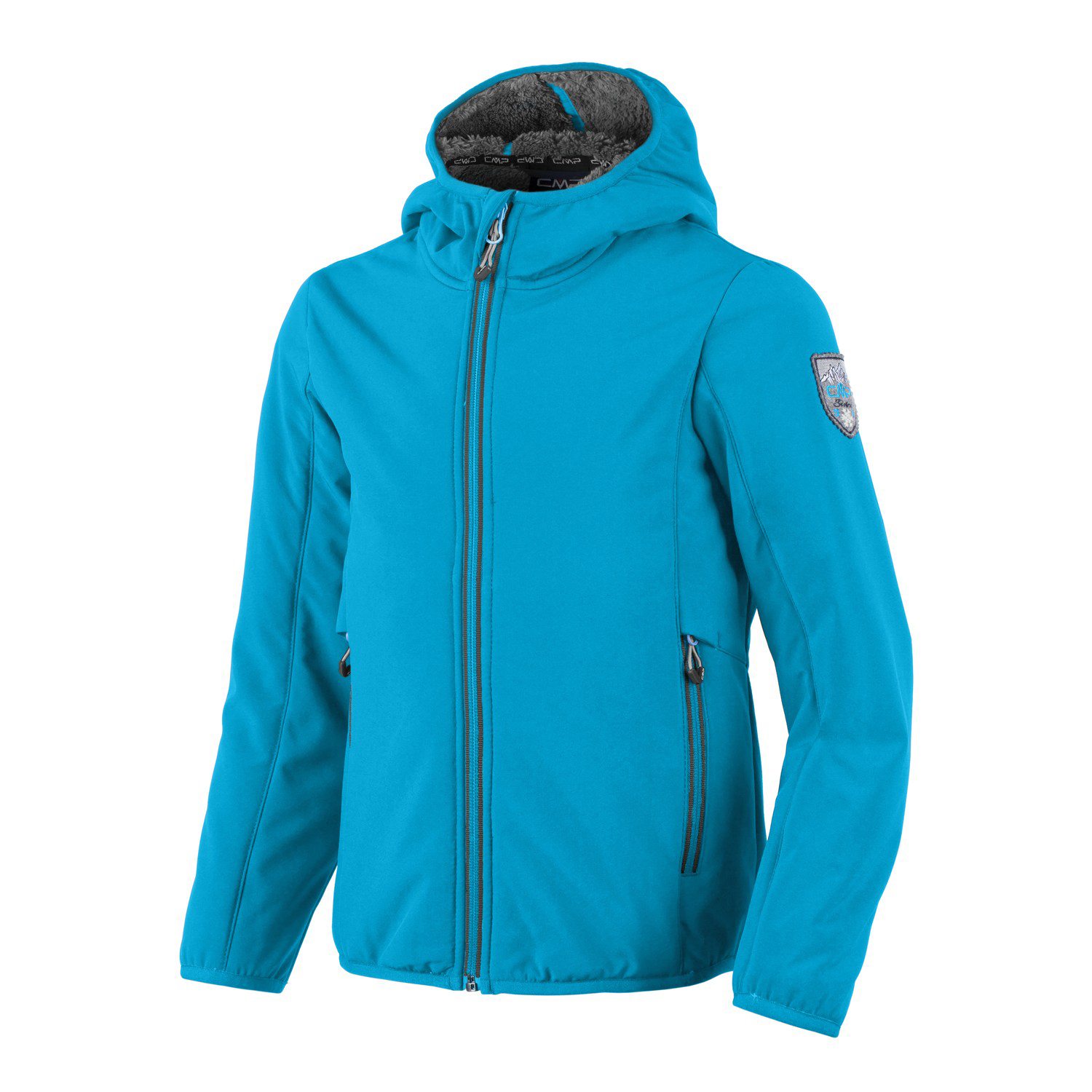 Kinder Jacke GIRL SOFTSHELL JACKET FIX HOOD