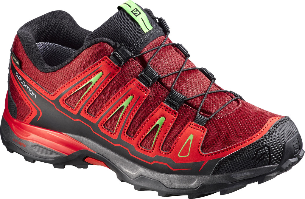 Kinder Outdoor-Schuhe X-ULTRA GTX J BRIQUE-X/RADI