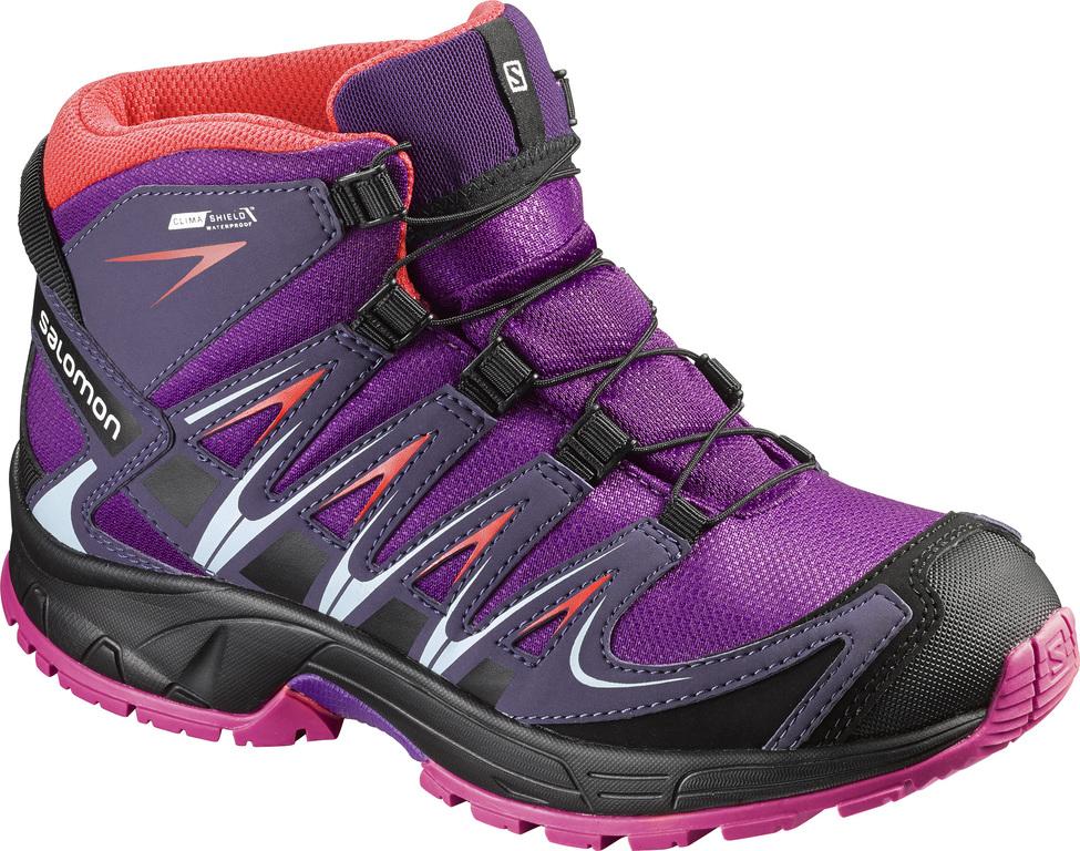 Kinder Schuhe XA PRO 3D MID CSWP J PASSIO