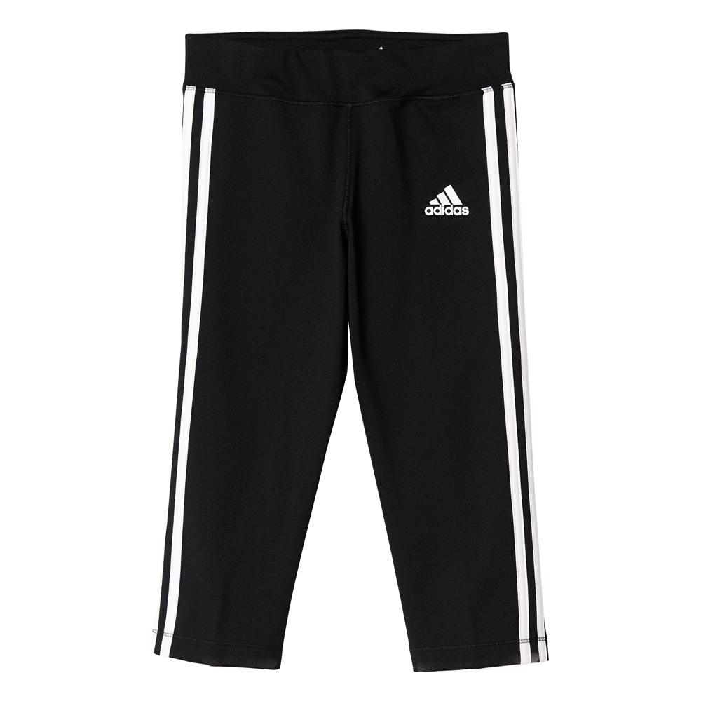 Kinder Sporthose Gear Up 3/4 Tight, BLACK/WHITE, 164