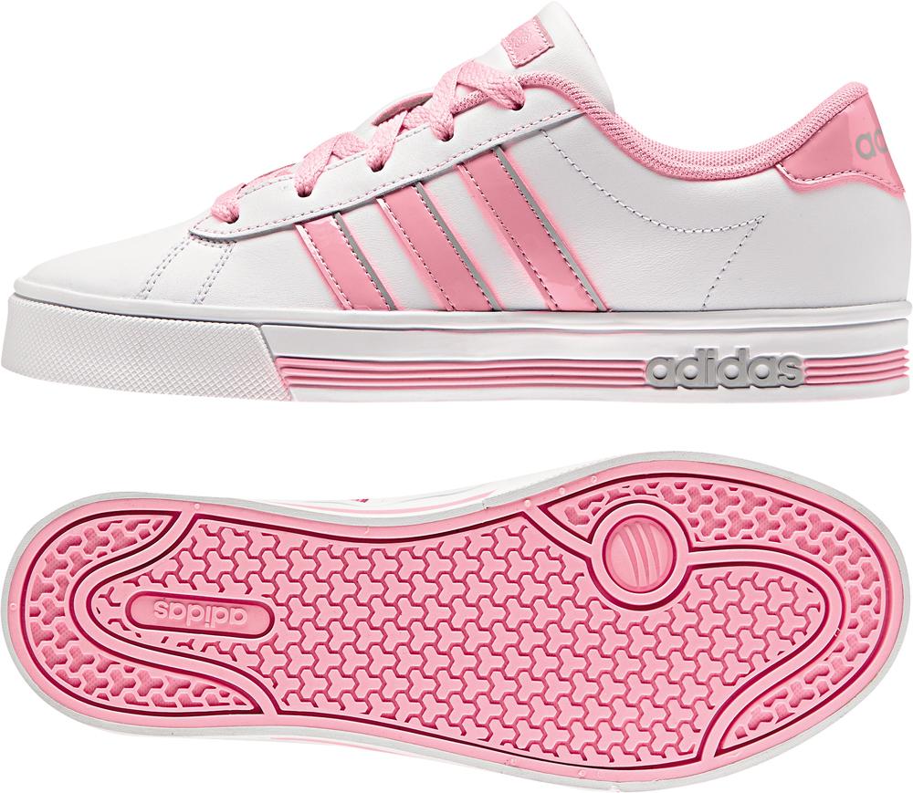 Kinder Schuh DAILY TEAM K, FTWWHT/LTPINK/CLONIX, 35