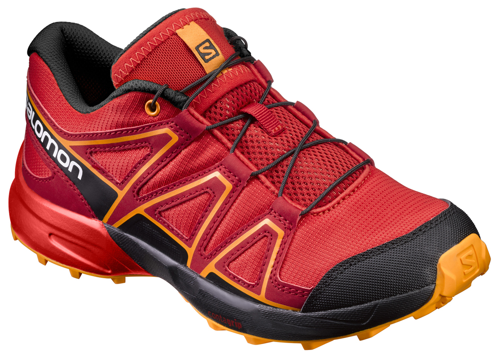 Kinder Outdoorschuh SPEEDCROSS J FIERY RED/BK/B