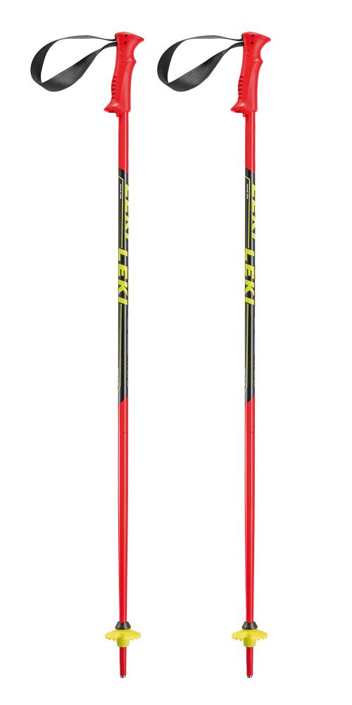 Kinder Ski-Stöcke Racing Kids, neonrot, 100