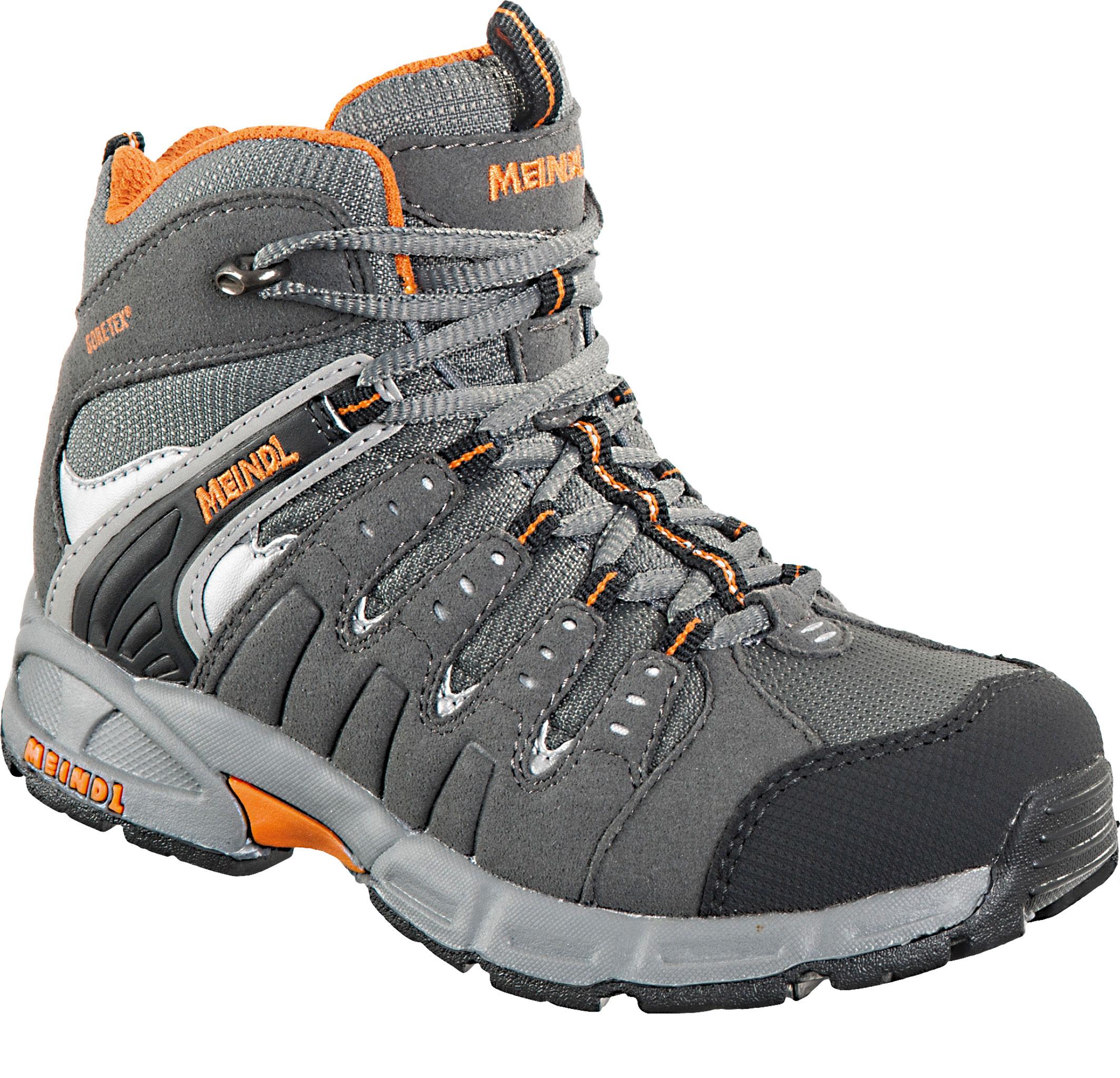 Kinder Schuhe Snap Junior Mid GTX, anthrazit/orange, 30