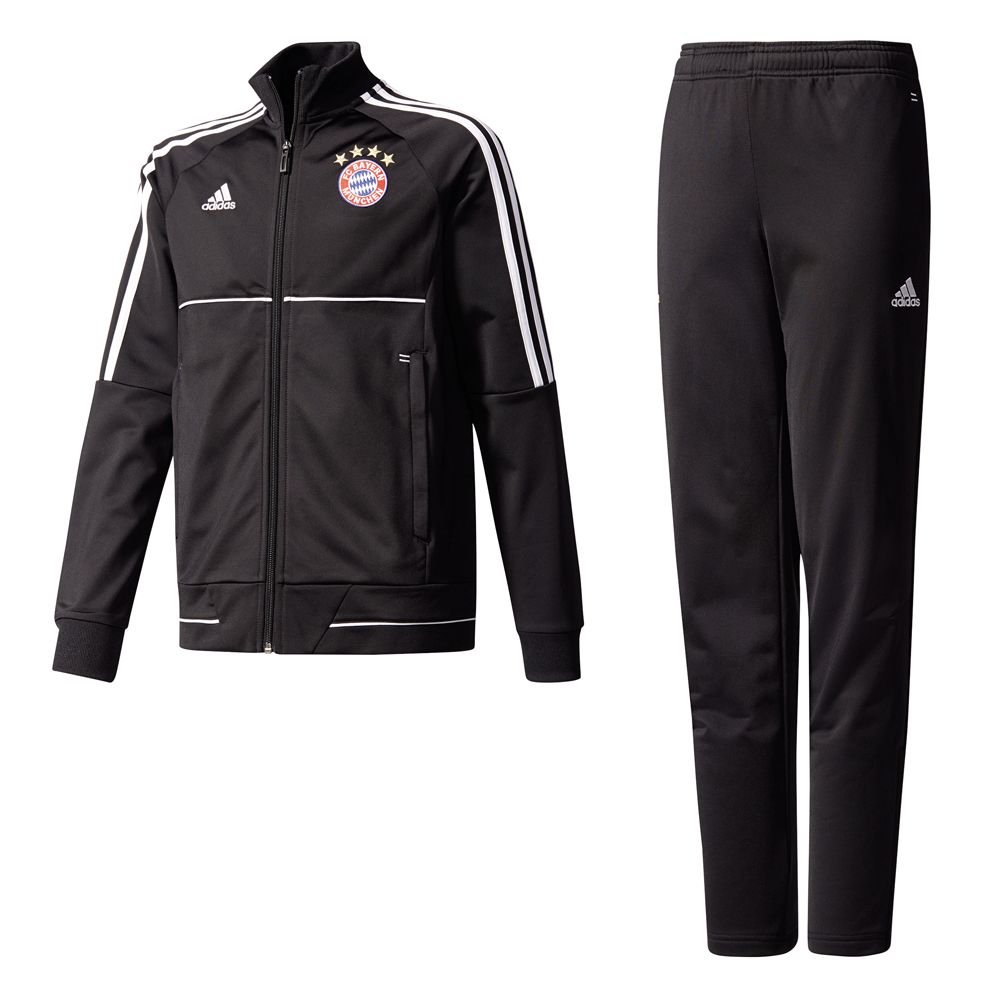 Kinder Trainingsanzug 17/18 BAYERN MUENCHEN POLYESTER SUIT YOUTH