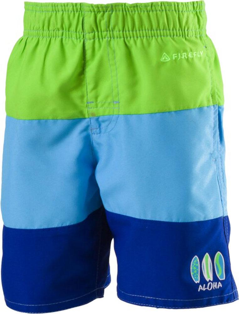 Kinder Badeshorts Larren green lime