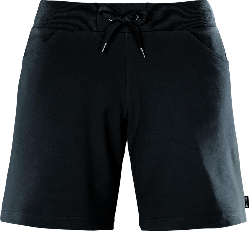 Damen Wohlfühl-Bermudahose LATINAW Schwarz, schwarz, 40