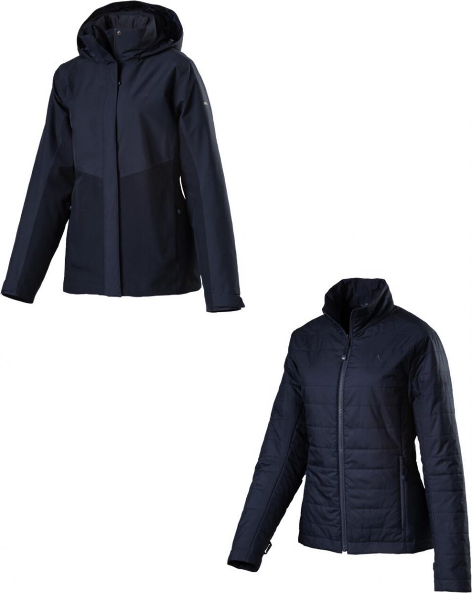 Damen Doppeljacke 3in1 Jacket Luanda2, navy blazer, 42