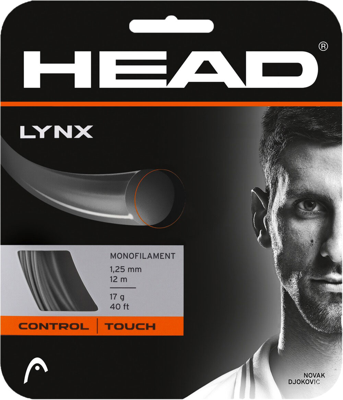 Tennis-Saite Lynx 1,25mm Set Anthrazit