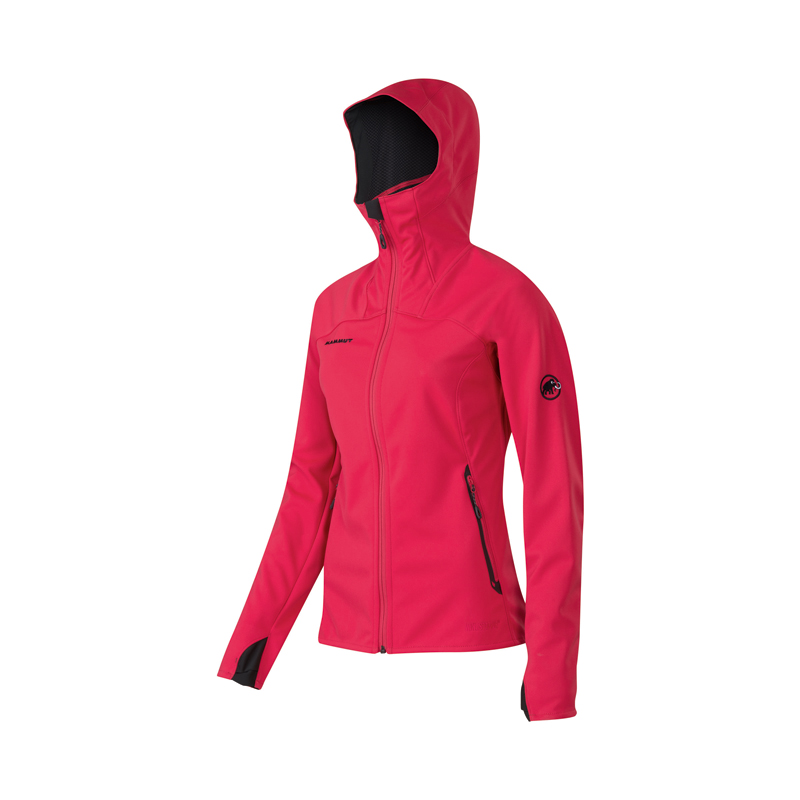 Damen Softshelljacke Ultimate Hoody Women
