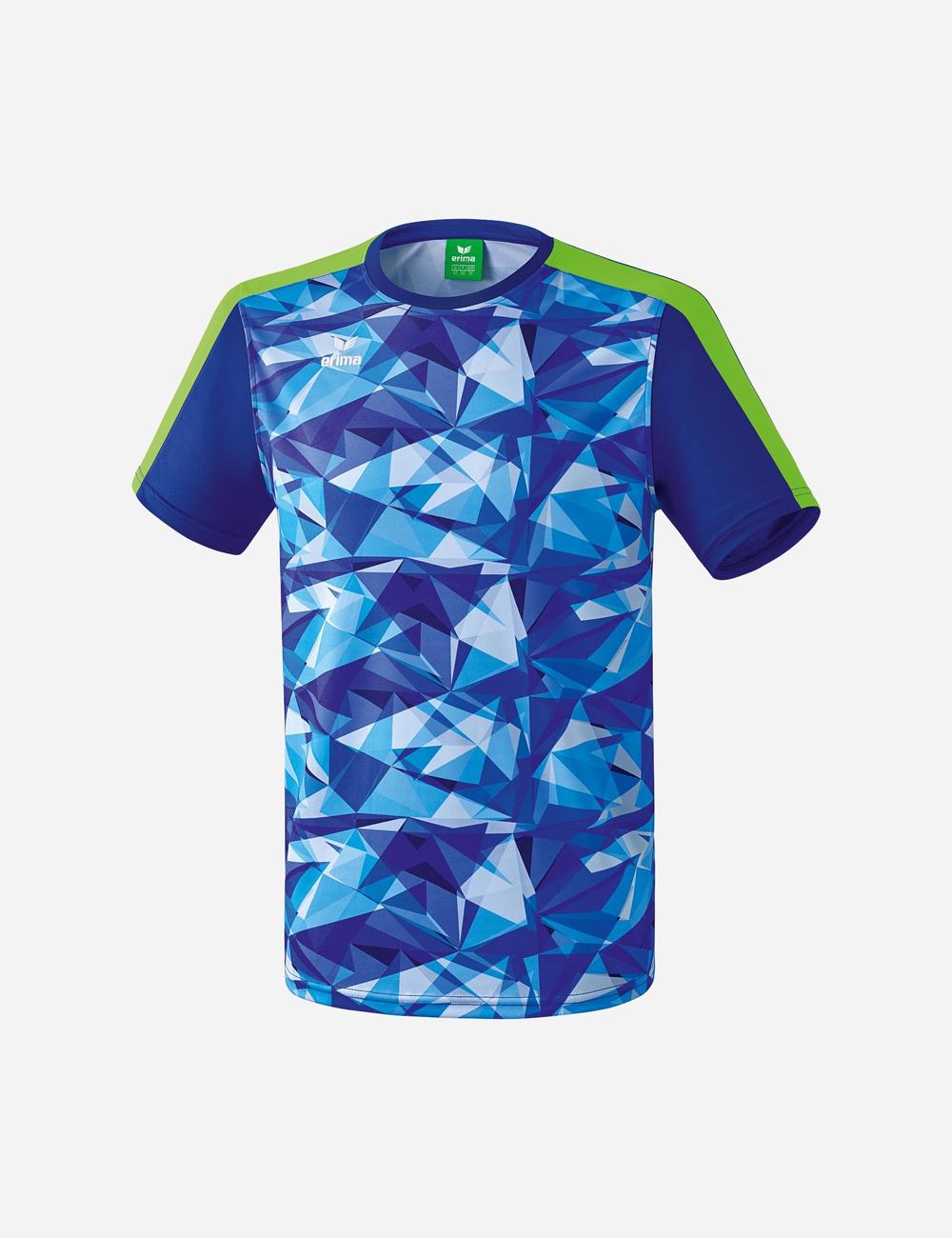 Herren T-Shirt Masters T-Shirt, mazarine blue/green gecko, L
