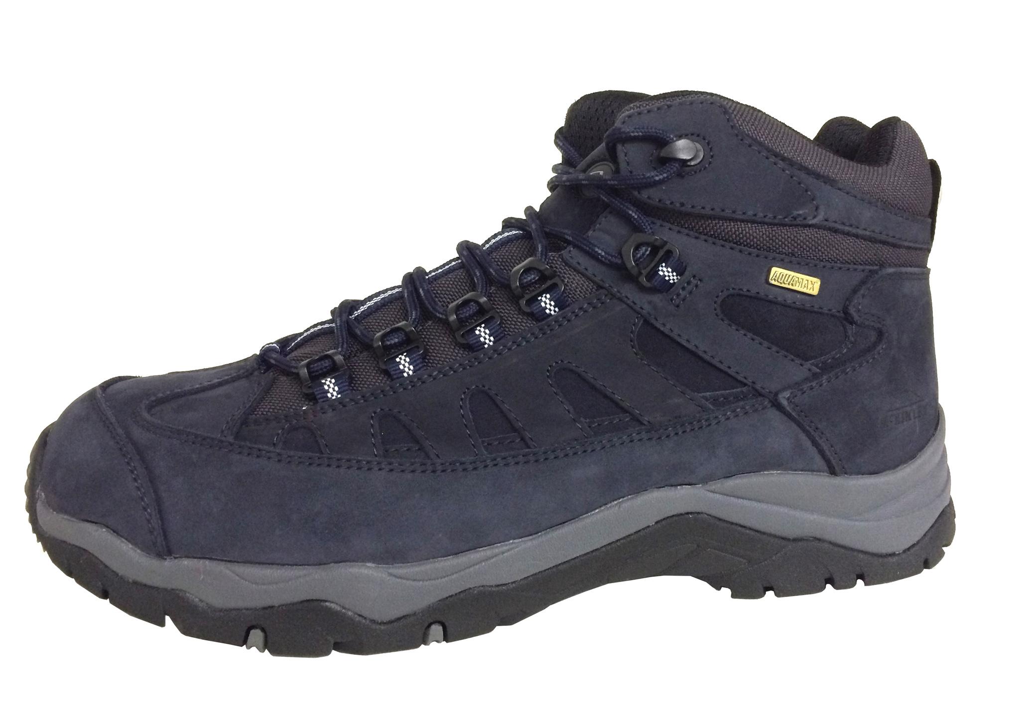 Herren Trekking-Stiefel Wabash Leather AQX