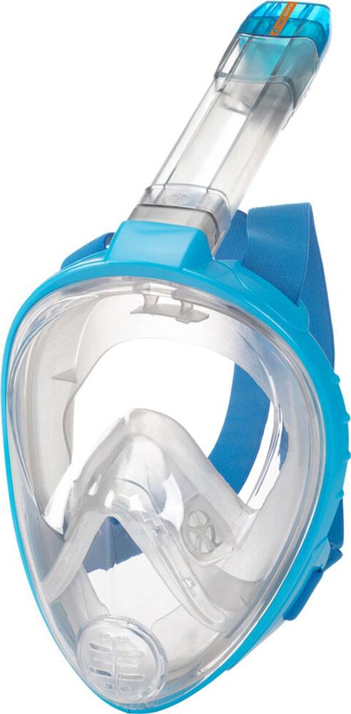 Kinder Tauchmaske Fullface M9 Blau;