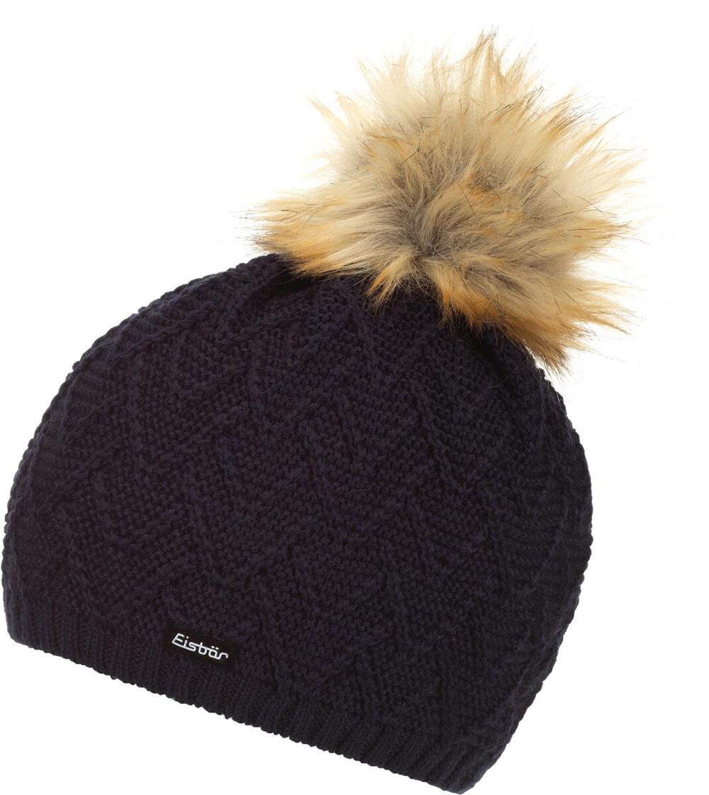 Mütze Isabella Lux MÜ nacht Braun Damen