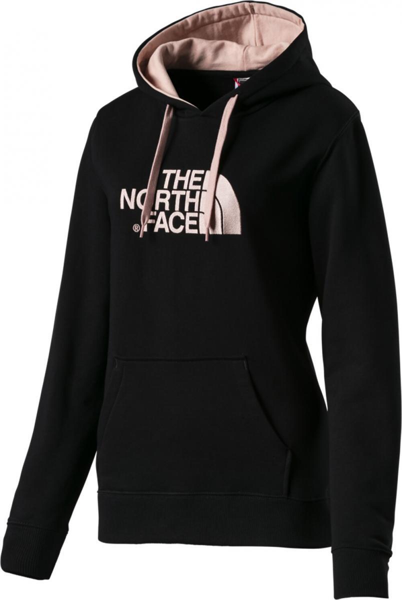 Damen Kapuzensweatshirt Drew Peak Schwarz
