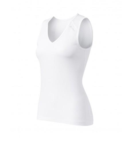 Damen Ärmelloses Shirt SINGLET V-NECK CUBIC