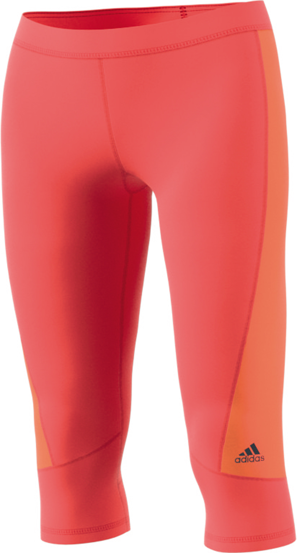 Damen Sporthose Techfit Capri Color Block
