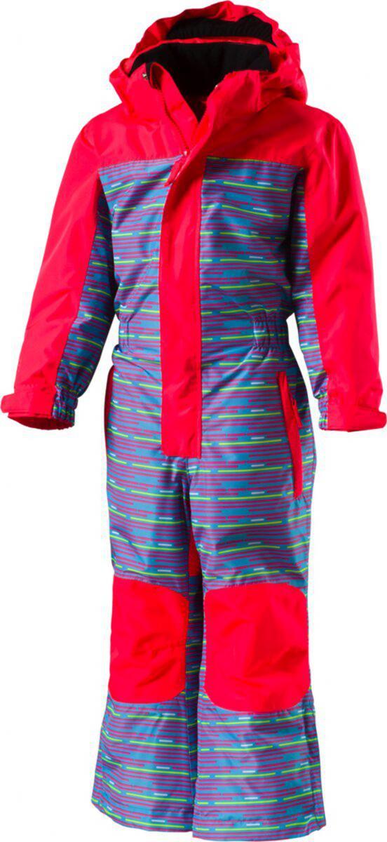 Kinder Skianzug Tiger Pink Multicolor Schneeanzug