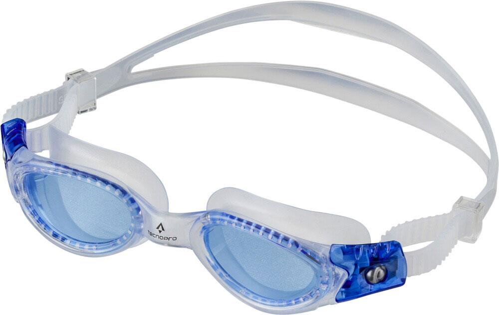 Kinder Schwimmbrille Pacific Pro Jr. Blau, TRANSPARENT/BLUE, -