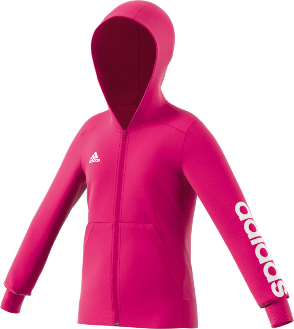 Zip Hoodie Mädchen Pink