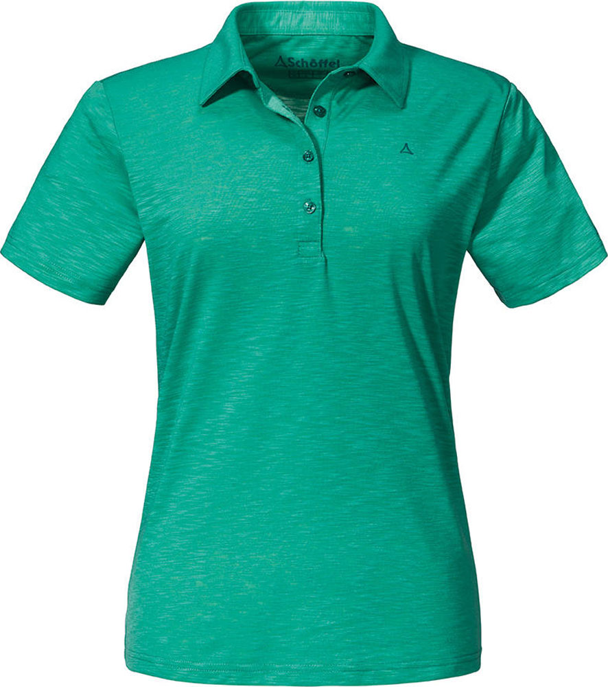 Polo Shirt Damen Capri1 Grün