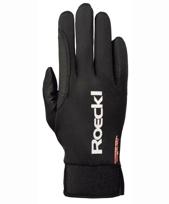 Langlauf Handschuh Lit, schwarz, 6,5