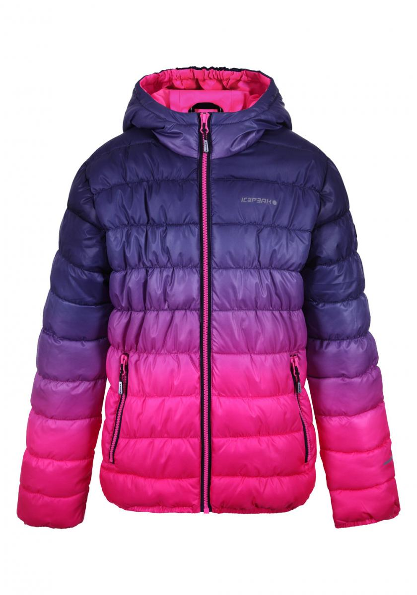 Rosie Jr Jacke Mädchen Skijacke Winterjacke Himbeere